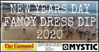 New Years Day Fancy Dress Dip 2020