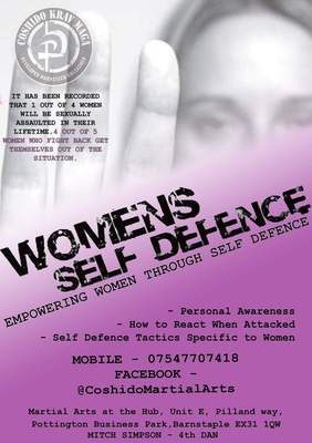 Women's Self Defence Classes